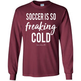 Soccer Freaking Cold Youth Apparel SA469
