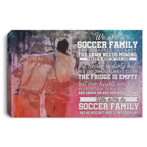 A Soccer Family #2 Canvas Wall Art ALCA231