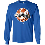 Splashed Paint Basketball Youth Apparel AL184