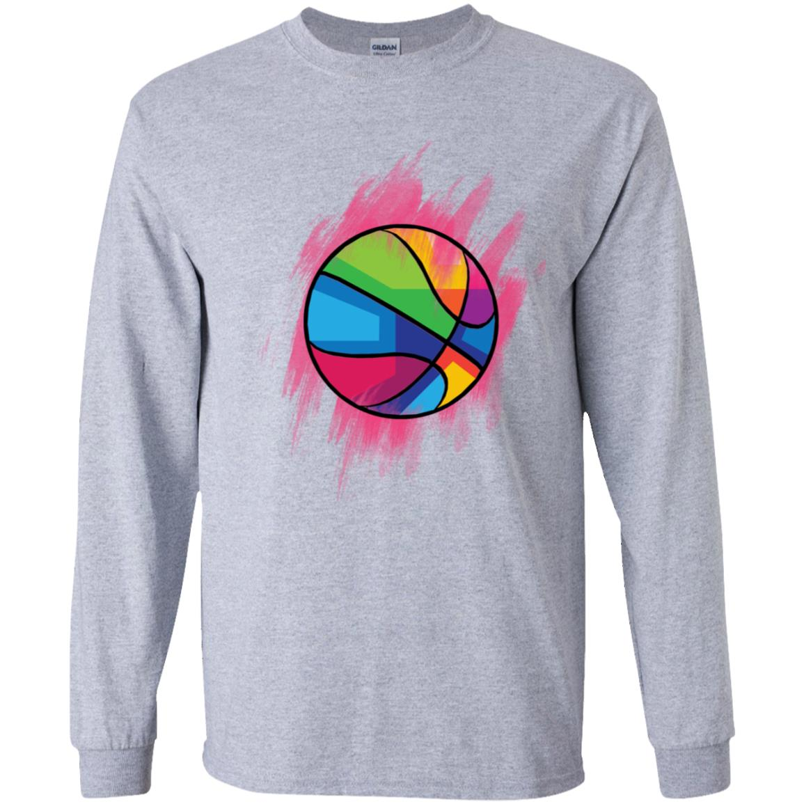 Colorful Basketball Youth Apparel AL177