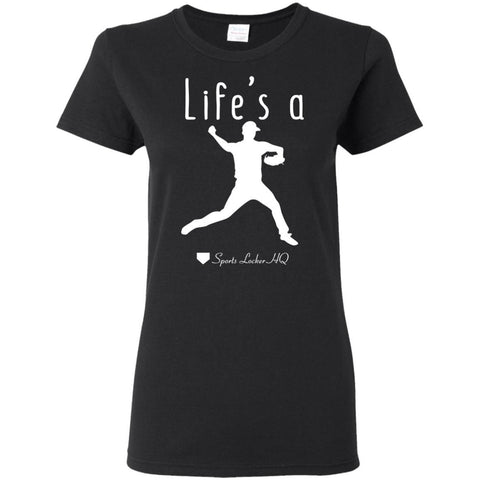 Life's A Pitch Baseball Apparel