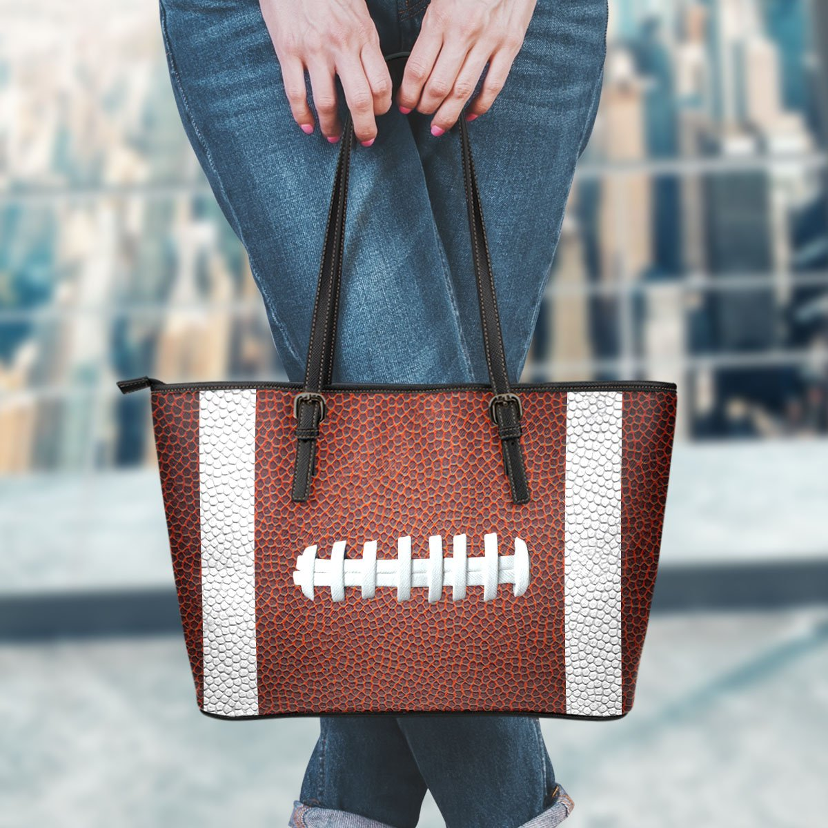Football (Original) Leather Handbag