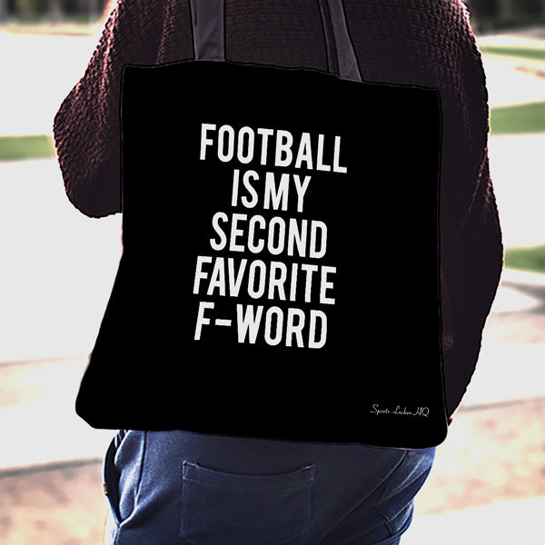 Football 2ND F-WORD Linen Tote Bag SA302