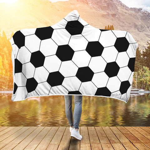 Soccer (Original) Premium Hooded Blanket