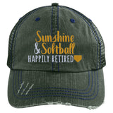 Sunshine & Softball Happily Retired Hat