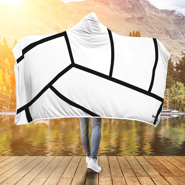 Volleyball Premium Hooded Blanket