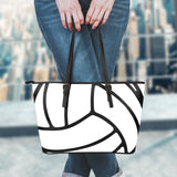 Volleyball Leather Handbag