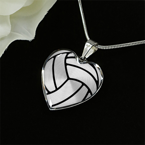 Volleyball Heart Pendant (Limited Edition)