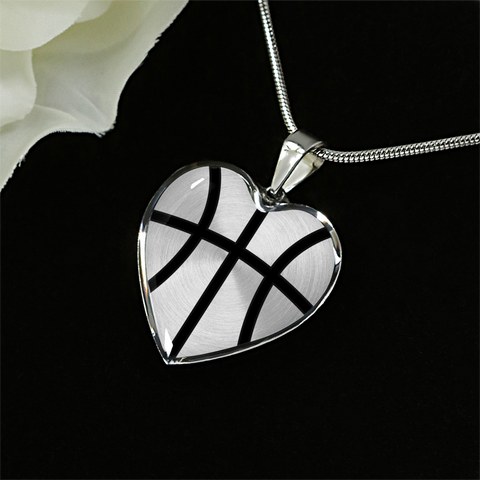 Basketball Heart Pendant (Limited Edition)