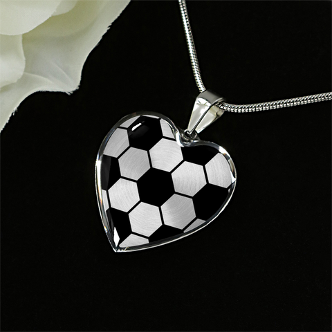 Soccer Heart Pendant (Limited Edition)