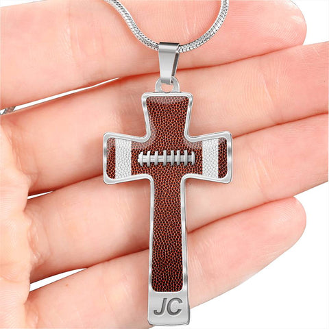Football (Original) Luxury Cross Necklace