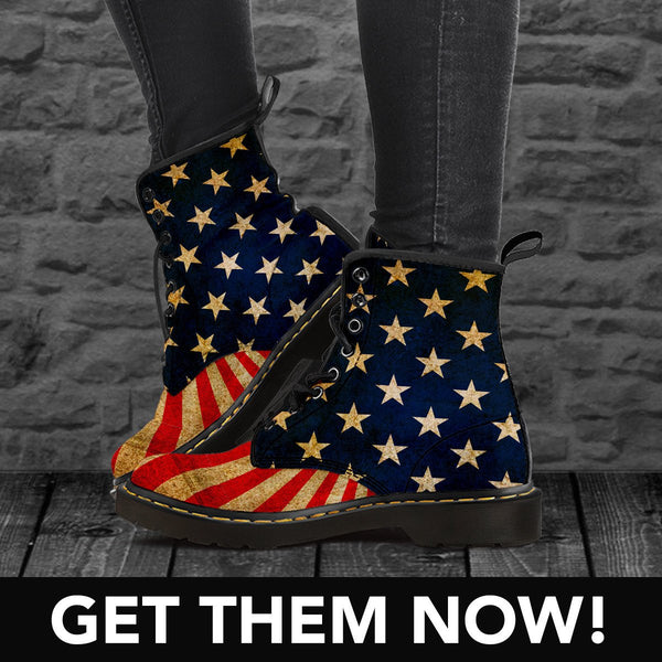 Boots - 30% OFF - Limited Edition USA Boots (M/F)