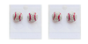 Earring - Before 30% Off Retail + S - Crystal Sports Stud Earrings (2 Pairs)