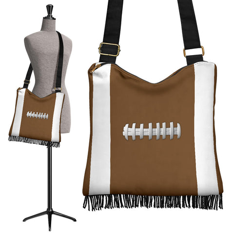 Football Crossbody Boho Handbag