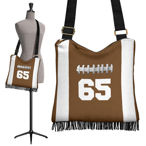 Football (Original) #65 Crossbody Boho Handbag