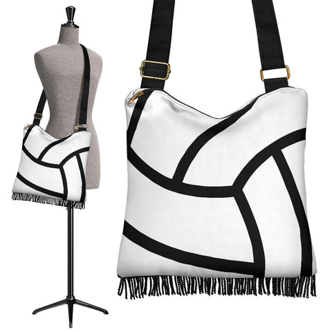 Volleyball Crossbody Boho Handbag