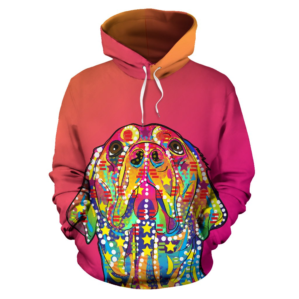 Colorful Labrador Retriever Premium Hoodie