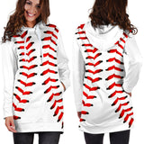 Baseball Premium Hoodie Dress