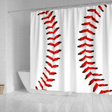 Baseball Premium Shower Curtain