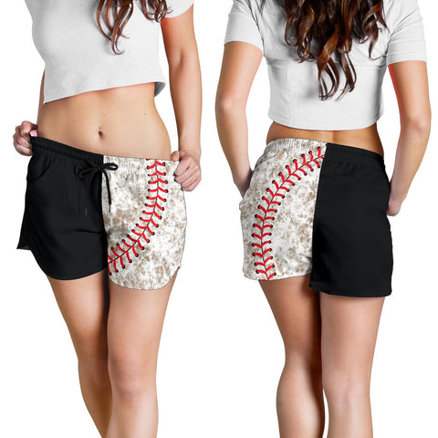 "Baseball ""Muddy"" Women's Shorts"