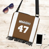 Football (Original) #47 Crossbody Boho Handbag