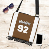 Football (Original) #92 Crossbody Boho Handbag