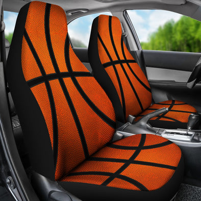 Basketball Premium Car Seat Covers (Set of 2)