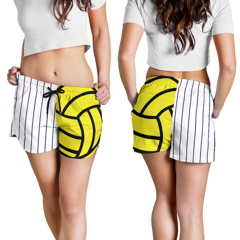 Water Polo Pinstripe Women's Shorts