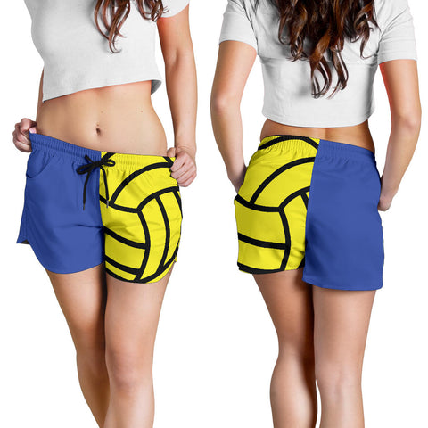Water Polo Blue Women's Shorts