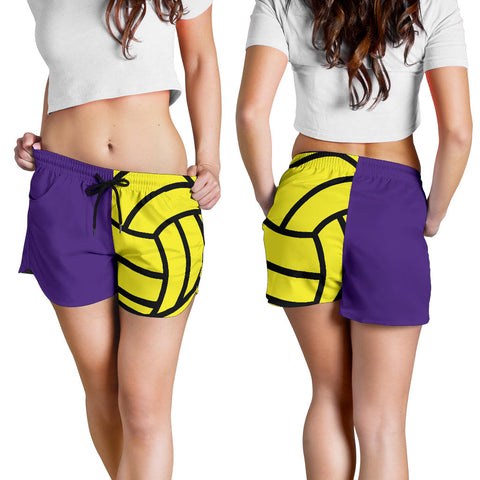 Water Polo Purple Women's Shorts