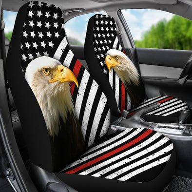 Thin Red Line American Eagle Premium Car Seat Covers (Set of 2)