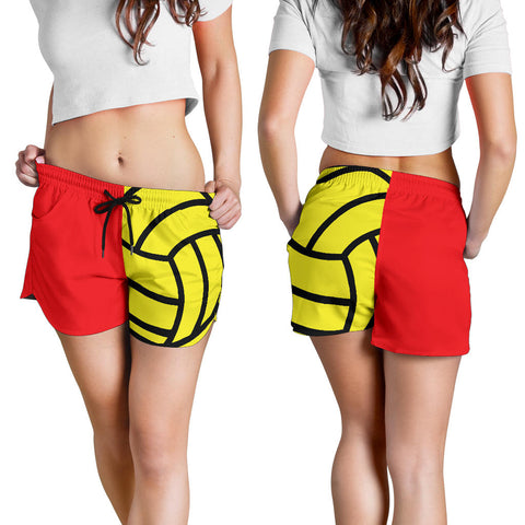 Water Polo Red Women's Shorts