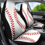Baseball Premium Car Seat Covers (Set of 2)