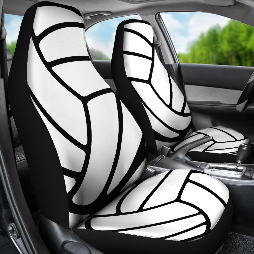 Volleyball Car Seat Covers Set Of 2