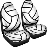 Volleyball Car Seat Covers (Set of 2)