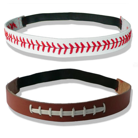 Headband - 30% Off + Shipping - Leather Football, Soccer & More Headbands: (2 Headbands) - 30% OFF