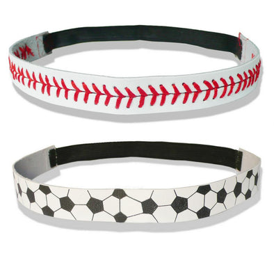 Headband - 30% Off + Shipping - Leather Soccer, Football & More Headbands: (2 Headbands) - 30% OFF