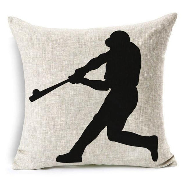 Pillow Cover - 30% Off Retail + Shipping - Silhouette Batter Pitcher & More Pillow Cover - 30% OFF