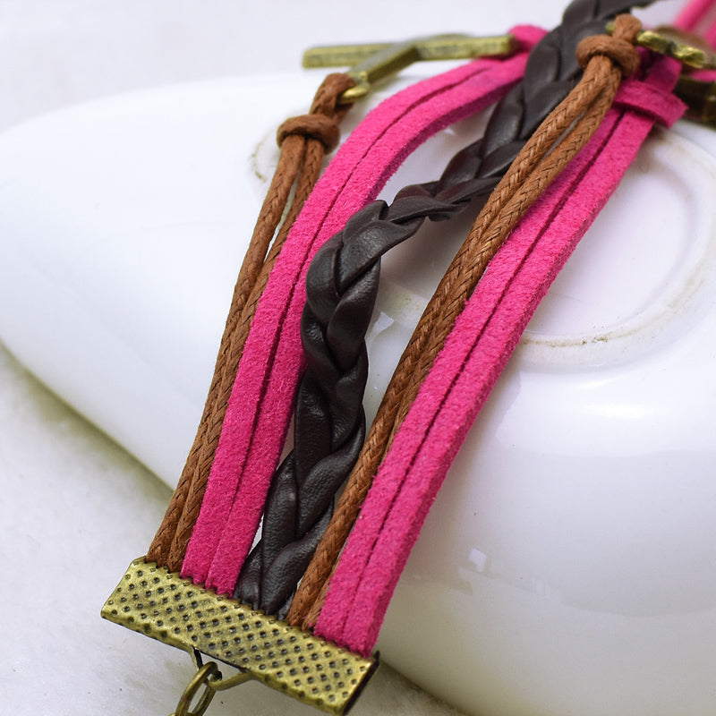 Vintage Woven Multi Layered Bracelet Men and Women