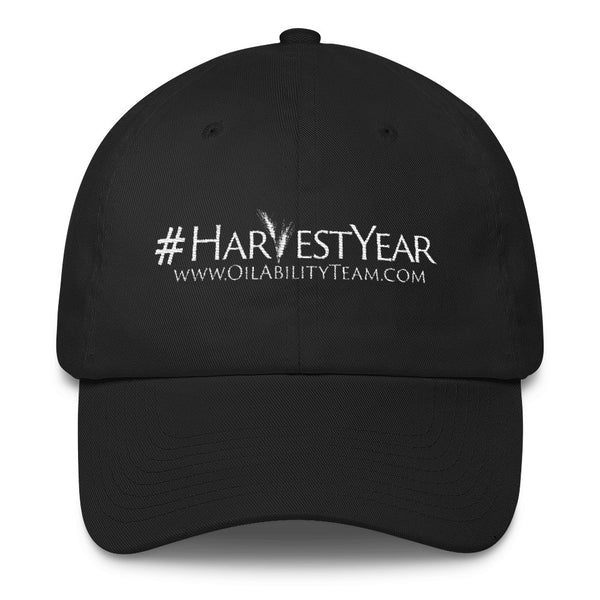 #HarvestYear Hat Black