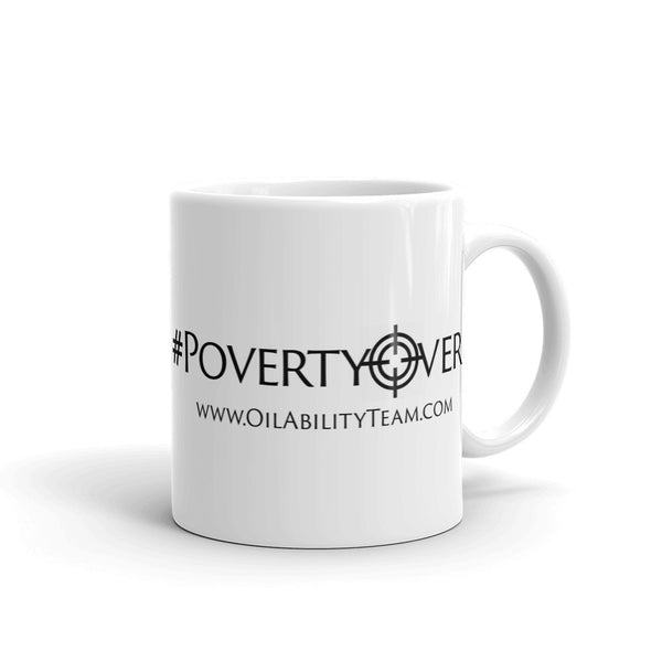 #PovertyOver Mug