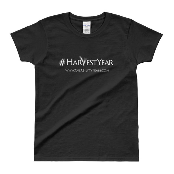 #HarvestYear Ladies Black