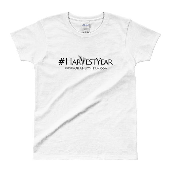 #HarvestYear Ladies White