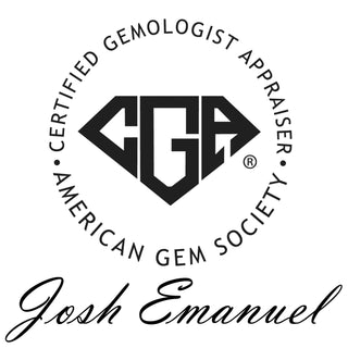 Certified Gemologist Appraiser - Josh Emanuel - The Goldsmith
