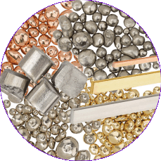 Metal Selection: Platinum, Gold, Silver
