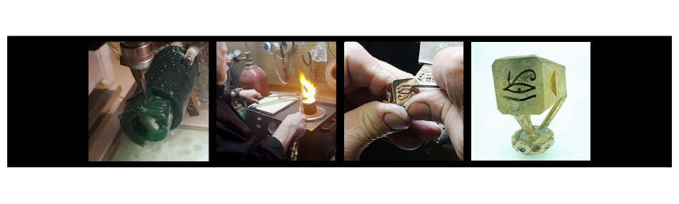 The Custom Process from Wax to Mold to Metal at THE GOLDSMITH