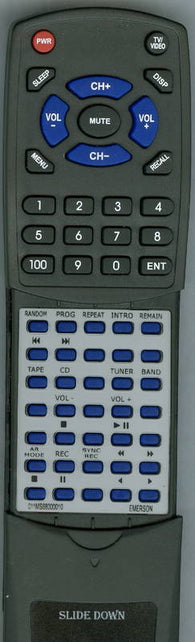 EMERSON 011MS680000-10 Replacement Remote