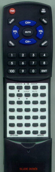 EMERSON 036310510005 Replacement Remote