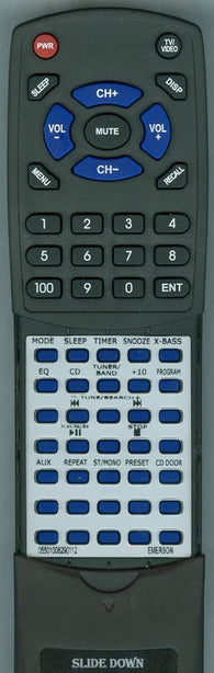 EMERSON 05501008290112 Replacement Remote