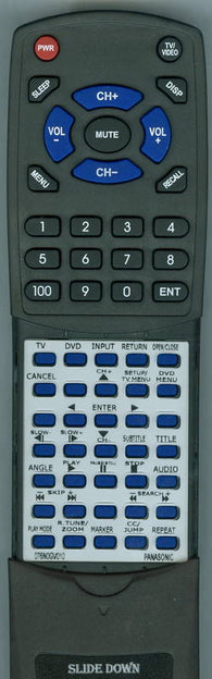 PANASONIC 076N0GV010 Replacement Remote